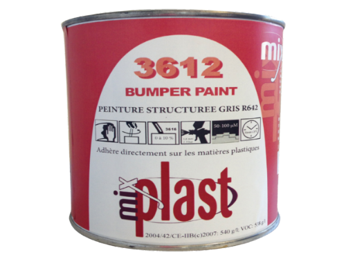 Textured Bumper Paint Black 1L - Best Bumper Paint On The Market
